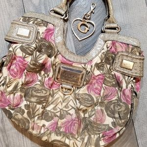 Guess Floral Handbag Hobo